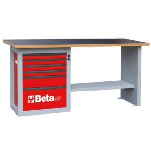 "Beta C59A-R ""Endurance"" With 1 Cab & Six Drawers (Red)"